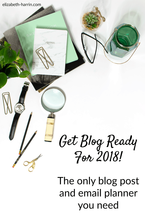 Get ready for 2018 with this blog post and email content planner