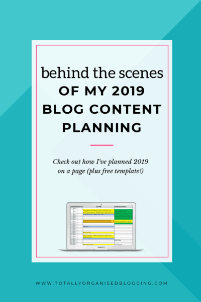 See how I schedule blog content