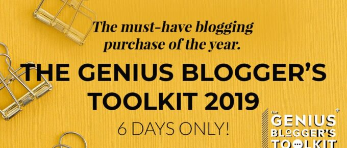 genius bloggers toolkit ad