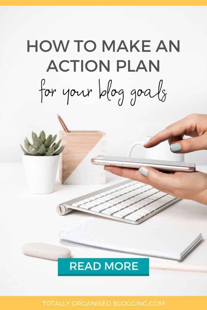 how to make a blog plan