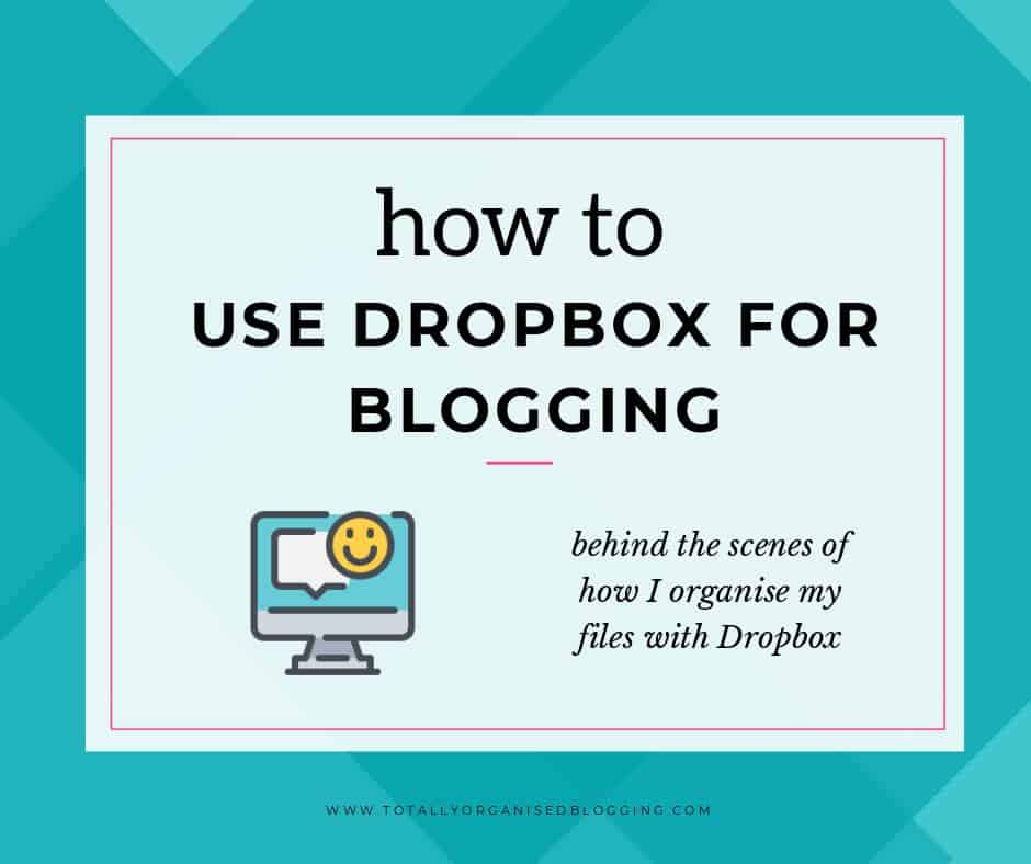 Dropbox for blogging