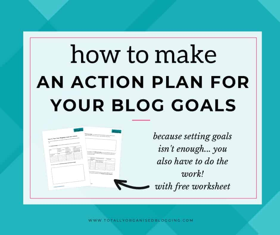 make an action plan
