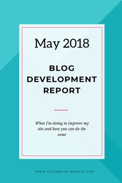 blog improvements this month
