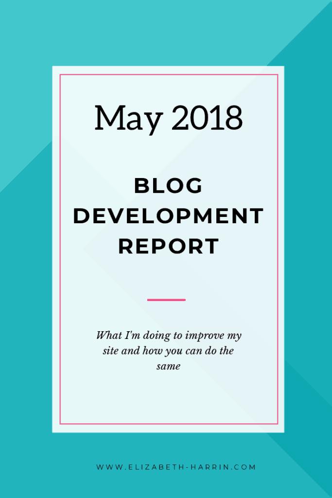 blog improvements this month