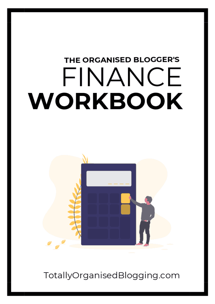 Blogger's Finance Workbook