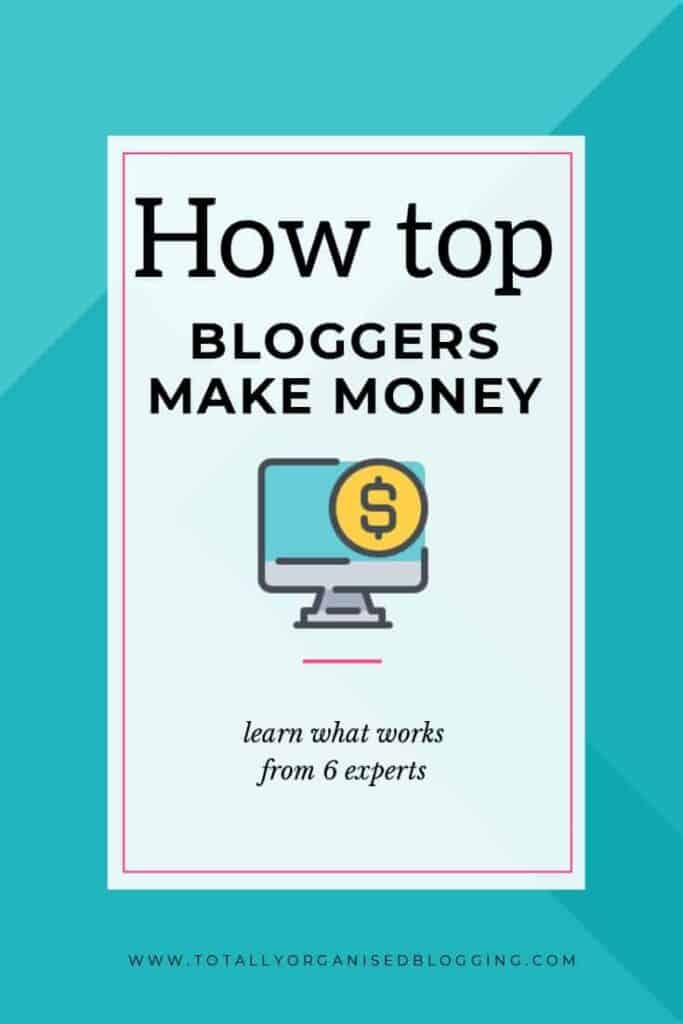 How top bloggers make money