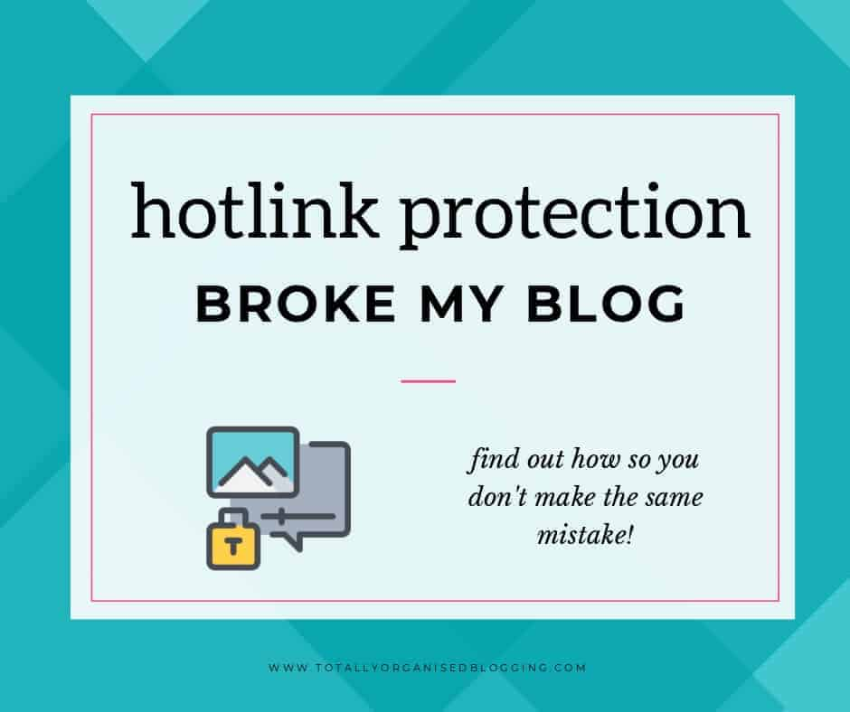 Hotlink protection mistake