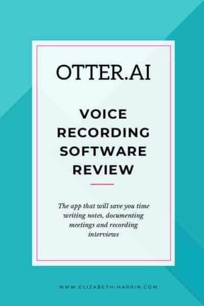 Otter.ai Voice Recording Software Review