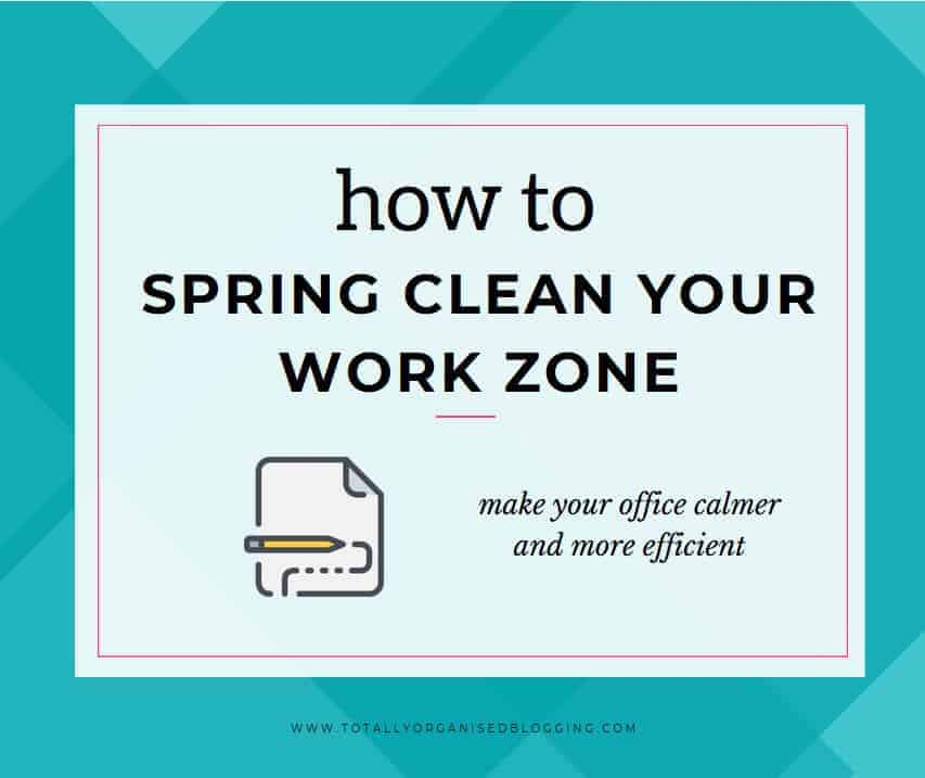 Learn how to spring clean your workzone and tidy up your processes to make your office calmer and more efficient.
