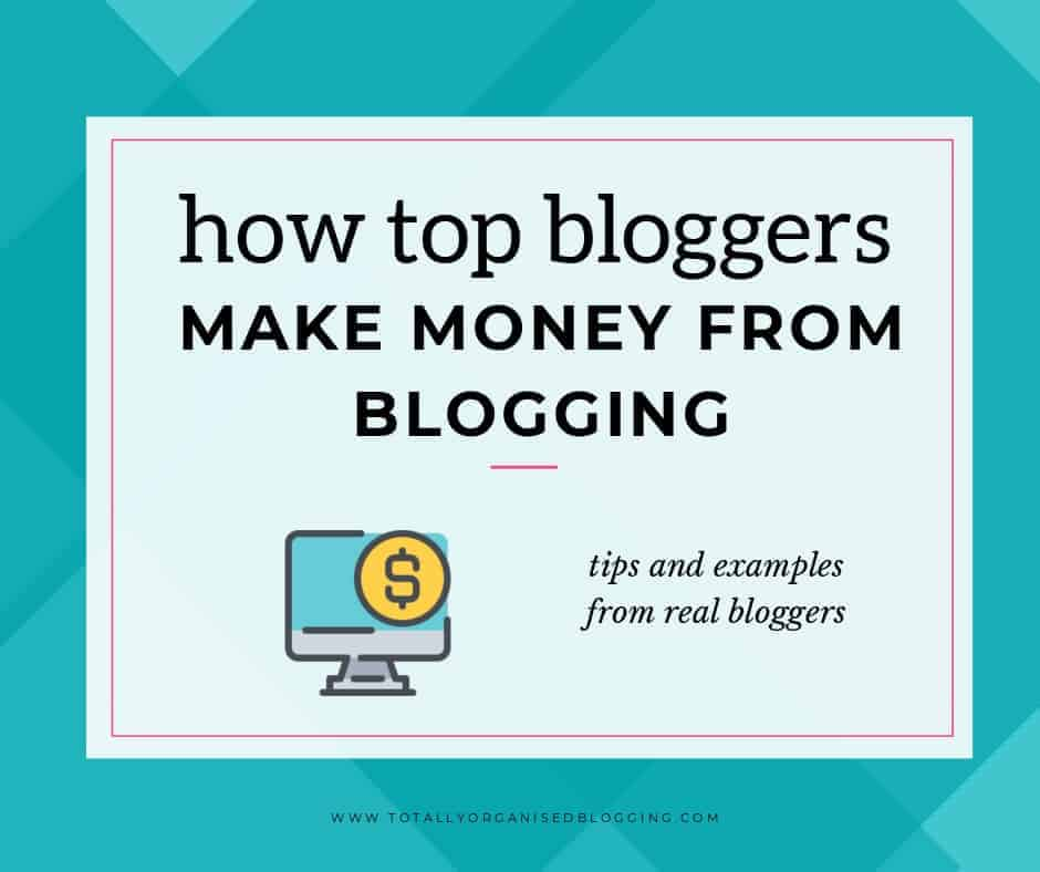 tips for making money blogging