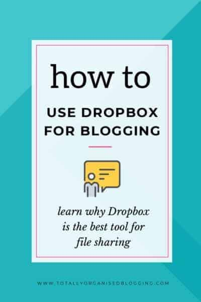Blogging with Dropbox